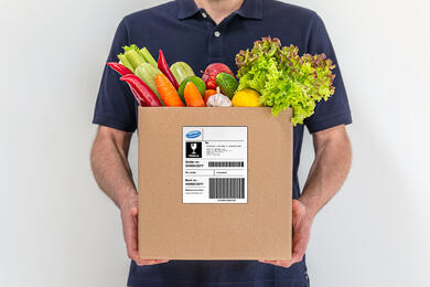 Fruit Box with label