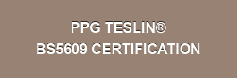 PPG TESLIN BS5609 CERTIFICATION